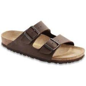 Birkenstock Arizona 2 strap sandal brown 38 (7.5)